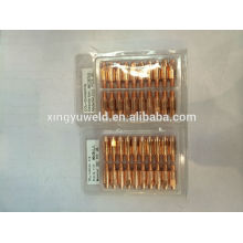 binzel welding torch contact tips